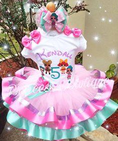 Doll Birthday Cake, Birthday Tutu, Birthday Bash, Birthday Parties, Surprise Birthday, Lol Doll Cake, Girls Birthday Party Themes, Doll Party, Bday Girl