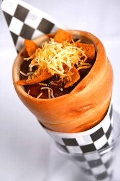 Chili Cone Carne at Cozy Cone Motel at the new Carsland in Disneyland