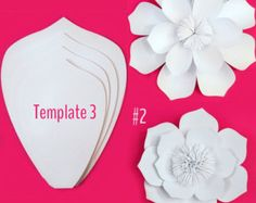 Paper Flower Wall custom and handmade to order. by PaperstoPetals