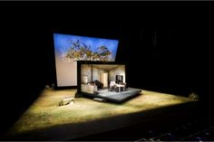 Dancing at Lughnasa. Aubade Hall. Set design by Signe Beckmann. 2007