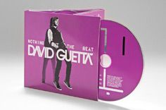 "David Guetta ""Nothing but the beat"" package design"