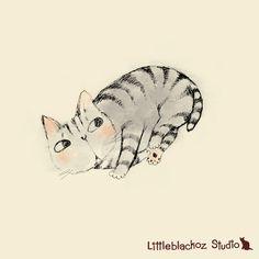 Huh?...littleblackoz Studio: Picture book Sketch