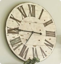 pottery barn wall clock - Google Search