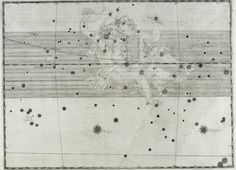 Gemini star map. Uranometria. Ioannis Bayer Rhainani I.C.