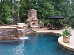 This is going to be the back of my pool.