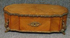 French Jewelry Casket With Ormolu Mounts
