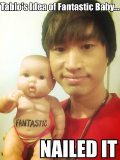 Hahaha! I love Tablo so much!!