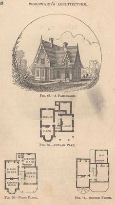 Woodward's Cottages and Farm Houses, 1867.  Geo. E. Woodward.  From the Association for Preservation Technology (APT) - Building Technology Heritage Library, an online archive of period architectural trade catalogs. Select an era or material era and become an architectural time traveler.