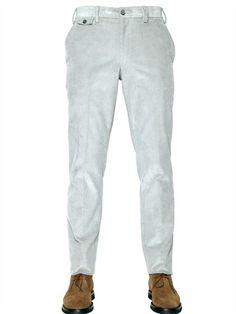 Larusmiani 19cm Microcotton Corduroy Trousers