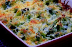 Broccoli and Gruyere Gratin | Noble Pig