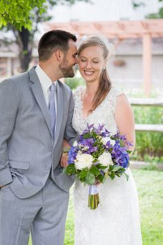 purple #wedding | Sara Bittner Photography