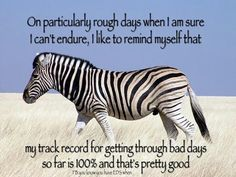 If you don't give up easily… | Community Post: Signs You Might Be A Zebra