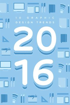 The 9 Graphic Design Trends You Need to Be Aware of In 2016 : excellent , thorough article with great links for useful designer tools at end Graphic Design Tools, Graphic Design Typography, Graphic Design Inspiration, Tool Design, Layout Design, Flat Design, Corporate Design, Branding Design, Web Design Trends