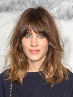 Alexa Chung's shaggy long bob will always be a favourite