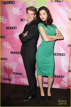 Brendan Dooling & Katie Findlay: 'Carrie Diaries' Premiere