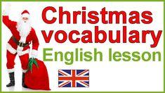 Christmas vocabulary | Christmas traditions | English lesson