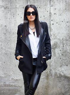 Fashion Crack: Womens Retro Thick Bold Frame Wayfarer Sunglasses 8777
