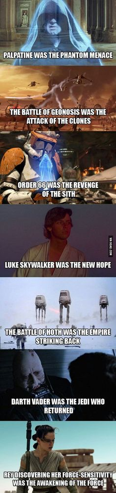 For star wars fans who didn't know - 9GAG