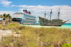 Flying Dutchman and the Disney Wonder // Disney Cruise Line: Castaway Cay