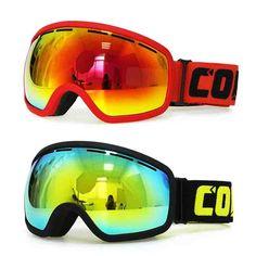f7513d57aa Brand Copozz Double anti-fog ski goggles Snow goggles Men Women UV400 Big  Frame Mask