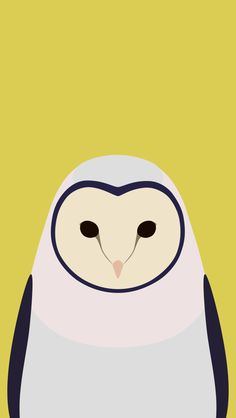 Tori no iro Barn owl. Halloween Wallpaper Iphone, Iphone Wallpaper, Smiling Dogs, Watercolor Ideas, Bird Illustration, Stippling, Simple Colors, Illustrations And Posters, Avatar
