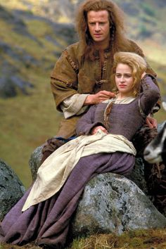 Connor and his wife Heather in Highlander