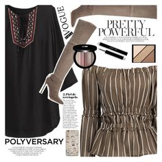 """""""Celebrate Our 10th Polyversary!"""" by vanjazivadinovic ❤ liked on Polyvore featuring Pour La Victoire, Edward Bess, Elizabeth Arden, polyversary, contestentry, polyvoreeditorial and zaful"""