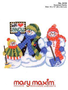 Snowman Family * 1/6