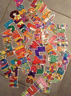 58 Best Ideas For Elementary Art Room Paintings Kindergarten Art Activities, First Day Activities, Elementary Art Rooms, Art Lessons Elementary, Salles D'art Élémentaires, School Projects, Art Projects, First Day Of Class, Ecole Art