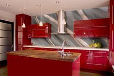 Abstrakte Küche