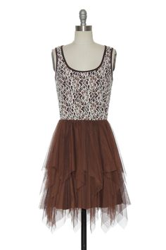 Ever After Dress in Chocolate | Vintage, Retro, Indie Style Dresses