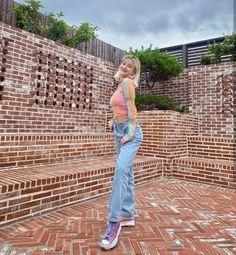 Nancy Momoland, Korean Girl, Harem Pants, Overalls, Dresses, Jewel, Mom Jeans, Tags, Girls