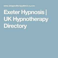 Exeter Hypnosis | UK Hypnotherapy Directory
