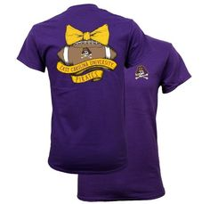 Southern Couture East Carolina ECU Pirates Vintage Football T-Shirt