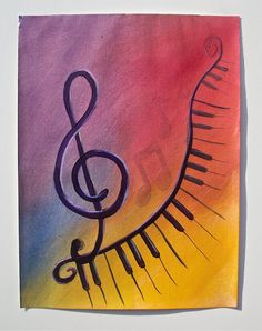 Sonata Original 12X9 by arteest on Etsy, $35.00