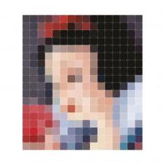 Pixel wanddecoratie Ixxi sneeuwwitje