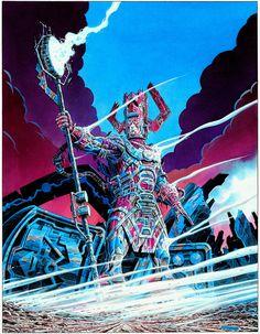 Marvel Masterworks and more! — Giorgio Comolo - Galactus Illustration Original...