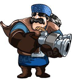 Hunter Clash Royale #clashroyale #Hunter