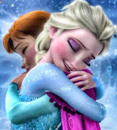 A Tale of Two Sisters • Anna Elsa Disney Frozen