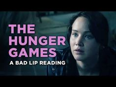 """The Hunger Games"" — A Bad Lip Reading I LOVE THE HUNGER GAMES! but for some reason this made me crack up so hard!"