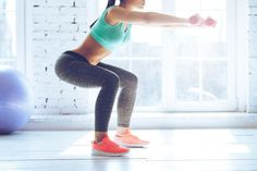 This mat butt workout targets the glutes with isolating exercises. Squats and lunges are great for shaping your butt, but they'll also grow your thighs. Fitness Workouts, Fitness Routines, Cardio Workouts, Fat Workout, Fitness Weightloss, Workout Routines, Workout Plans, Workout Videos, Leg Challenge