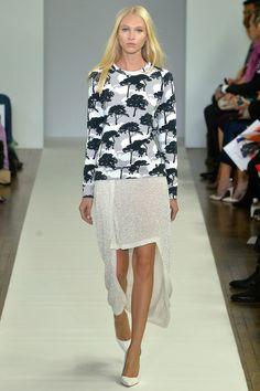 i neeeeeeeeed this sweatshirt ... Osman Spring 2014 Ready-to-Wear Collection Slideshow on Style.com