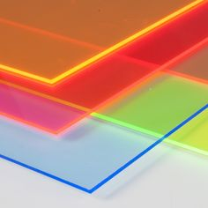 In Materials World you will find custom-made color fluorescent methacrylate plates for DIY and crafts. Material Board, Glass Material, Acrylic Material, Plexiglas Led, Plexiglass, Colored Acrylic Sheets, Acrylic Board, Dog Branding, Fluorescent Colors