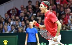 Roger Federer guides Switzerland to an historic first Davis Cup title in France   http://www.telegraph.co.uk/sport/tennis/rogerfederer/11248759/Roger-Federer-guides-Switzerland-to-an-historic-first-Davis-Cup-title-in-France.html