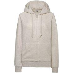UNIQLO Women Sweat Full-Zip Hoodie ($25) ❤ liked on Polyvore featuring tops, hoodies, zip hooded sweatshirt, pink hoodie sweatshirt, hooded pullover, sweat shirts and pink hoodies