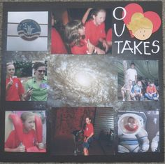 Outakes Layout - Scrapbook.com