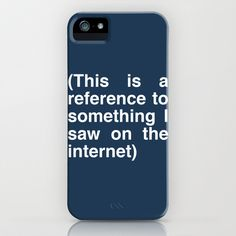 Internet reference iPhone & iPod Case by Hitsville - $35.00