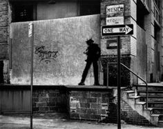 Richard Hambleton entered the Artworld with a serie of Mass Murder Street Art works in NYC between 1976-1979