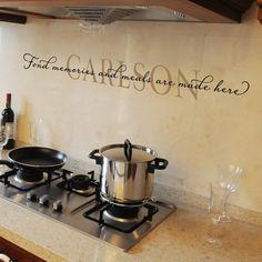 Personalized Vinyl Wall Decal Wall Words by OldBarnRescueCompany, $18.00