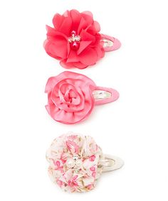 Look at this #zulilyfind! Pink Clip Set #zulilyfinds